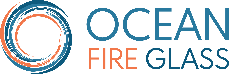 Ocean Fire Glass